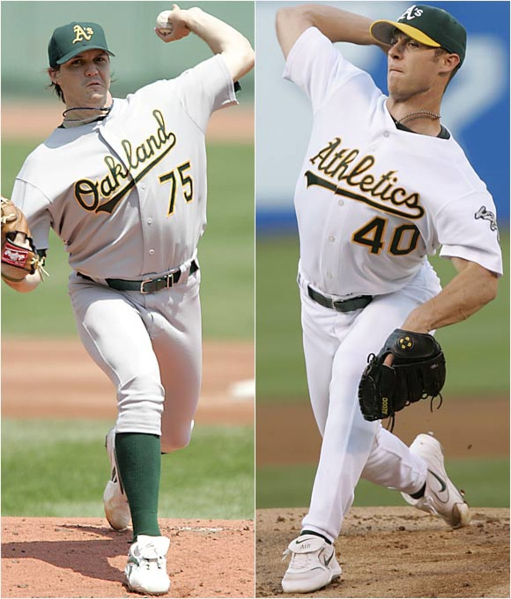 Barry Zito and <br> Rich Harden