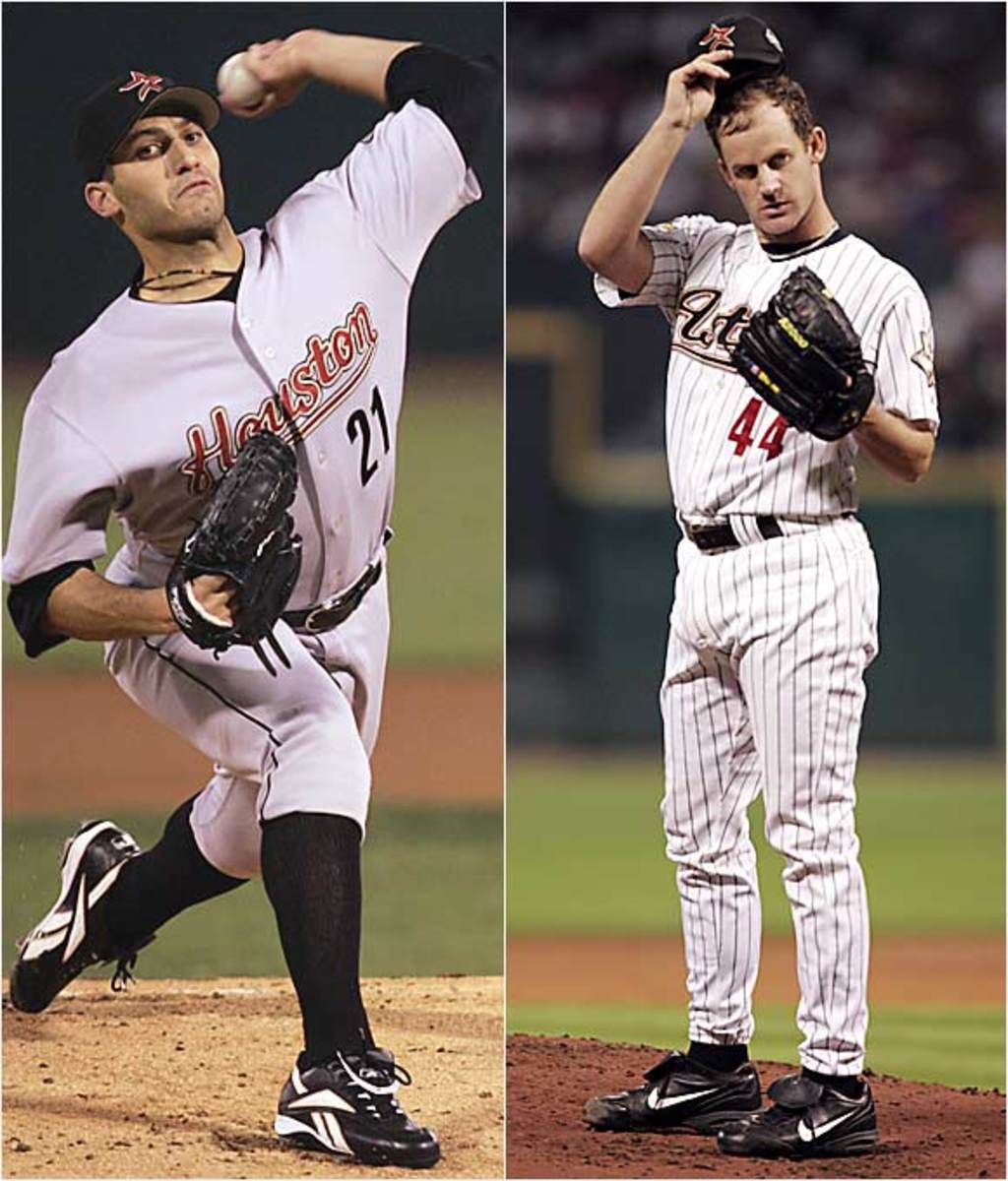 Andy Pettitte and <br> Roy Oswalt