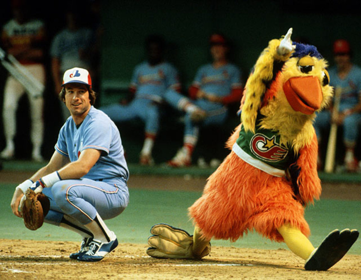 Gary Carter and the San Diego Chicken