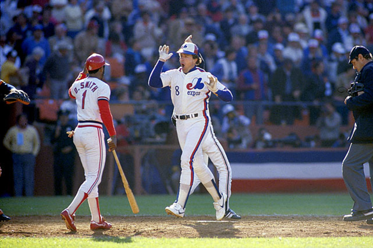Gary Carter and Ozzie Smith