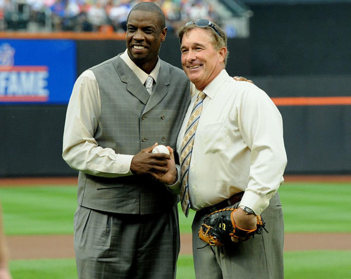 Dwight Gooden and Gary Carter