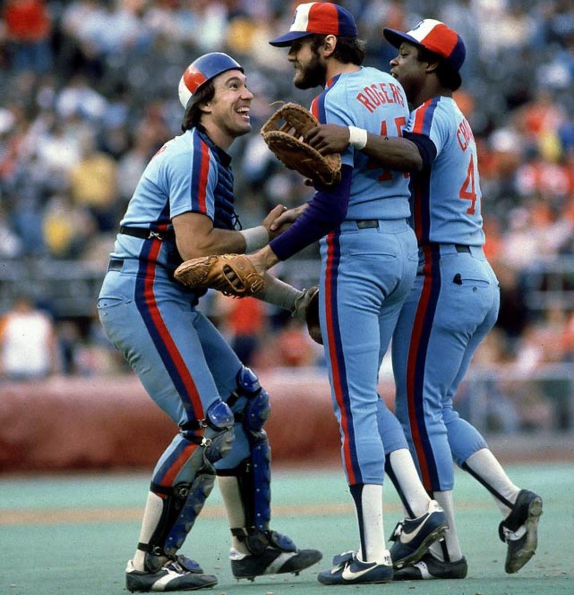Gary Carter, Steve Rogers and Warren Cromartie