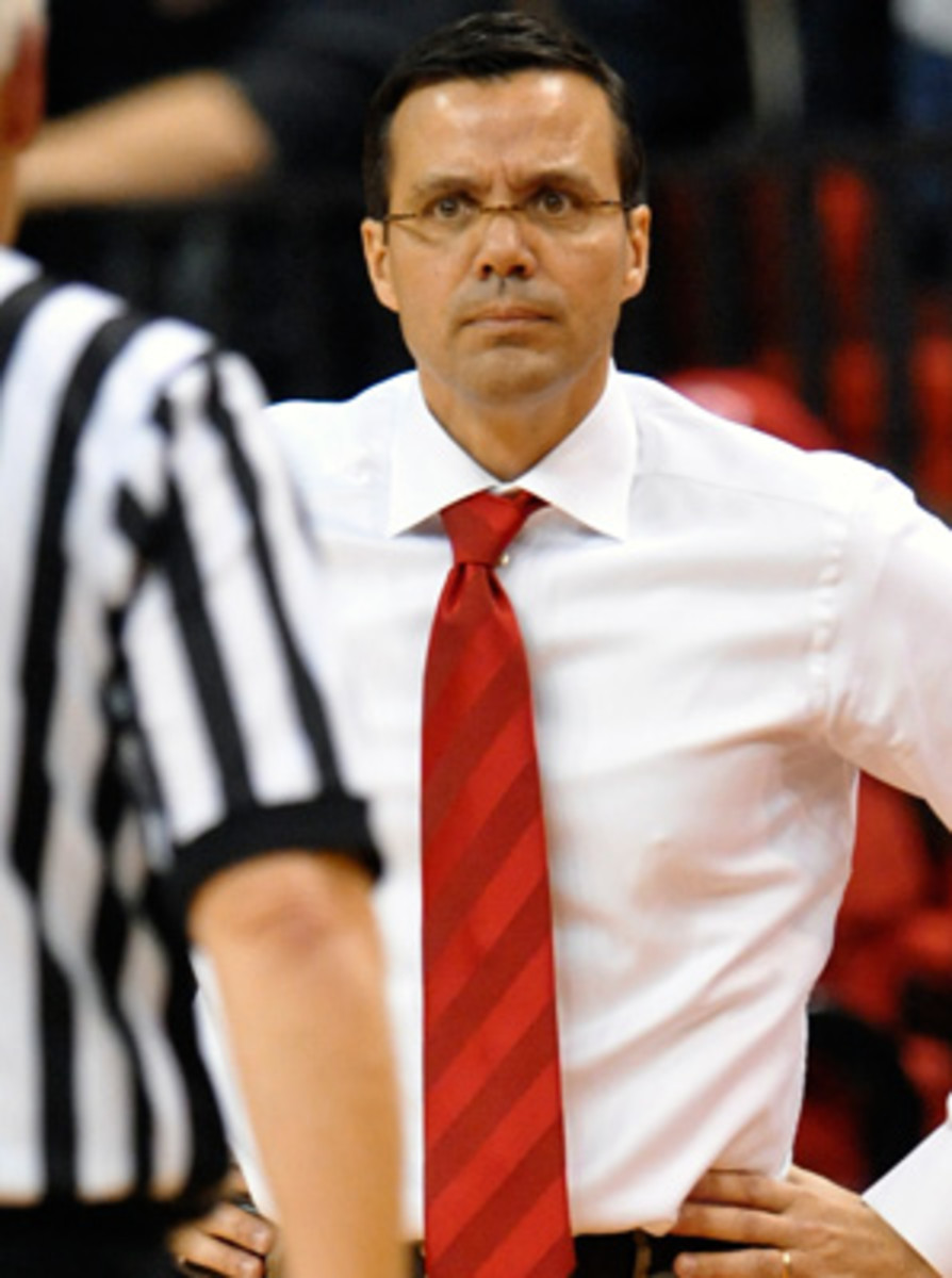 """Coach Tim Miles said in a text message he's """"greatly disappointed in the report and Deverell's actions."""""""