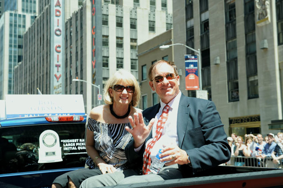 Gary Carter and wife Sandy