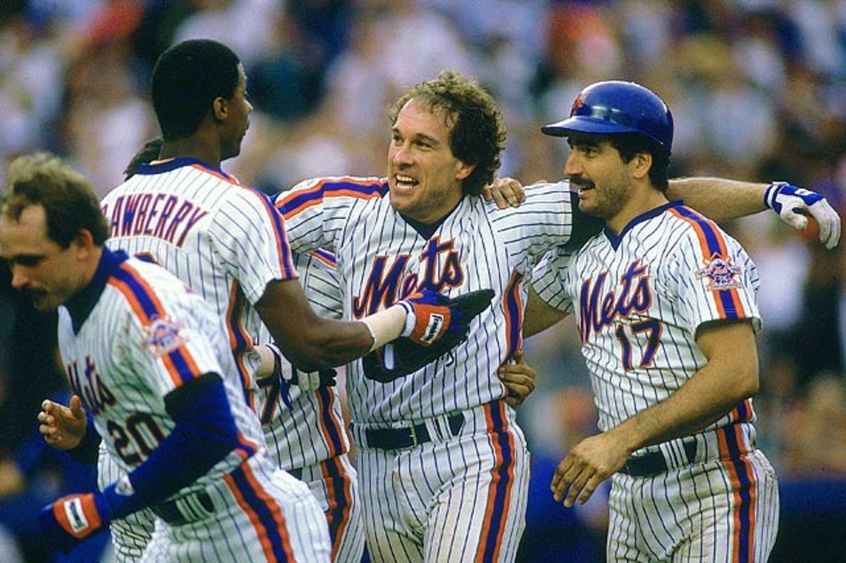Darryl Strawberry, Gary Carter and Keith Hernandez