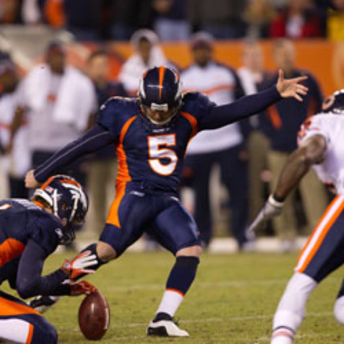 Matt Prater, Denver Broncos