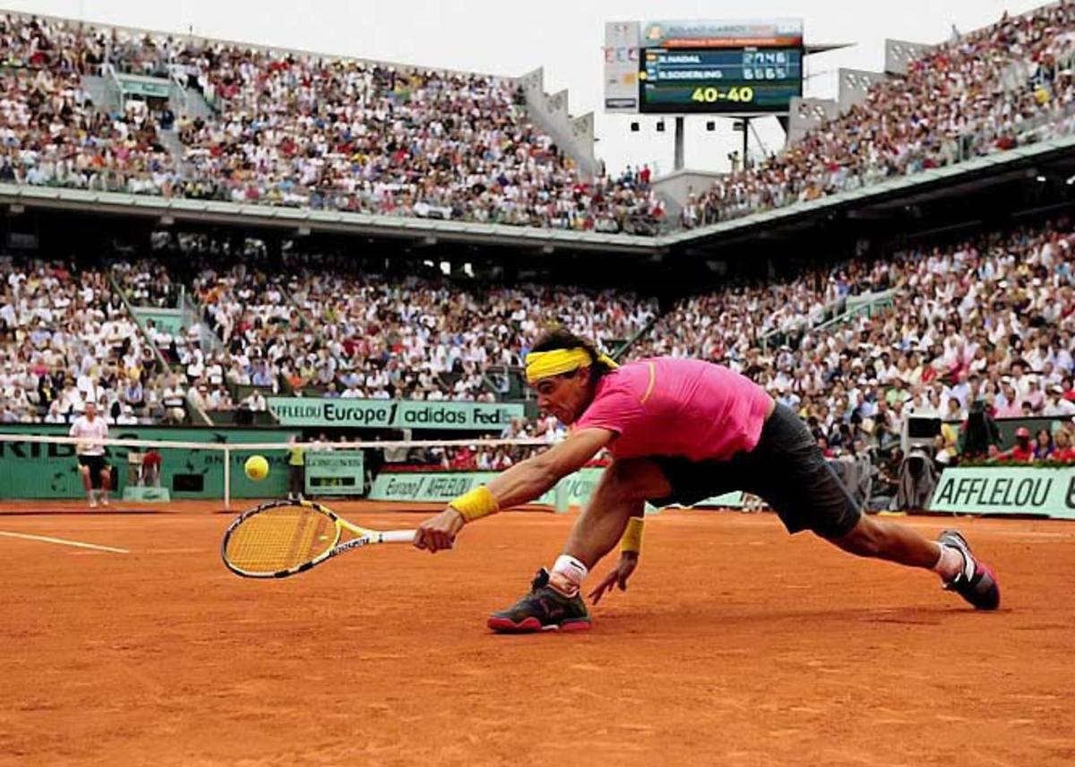 Robin Soderling def. Rafael Nadal