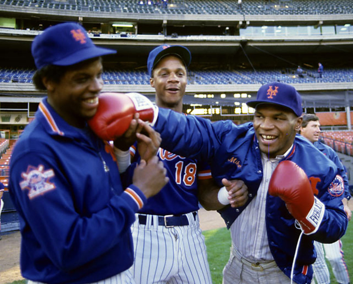 Mike Tyson, Darryl Strawberry and Dwight Gooden
