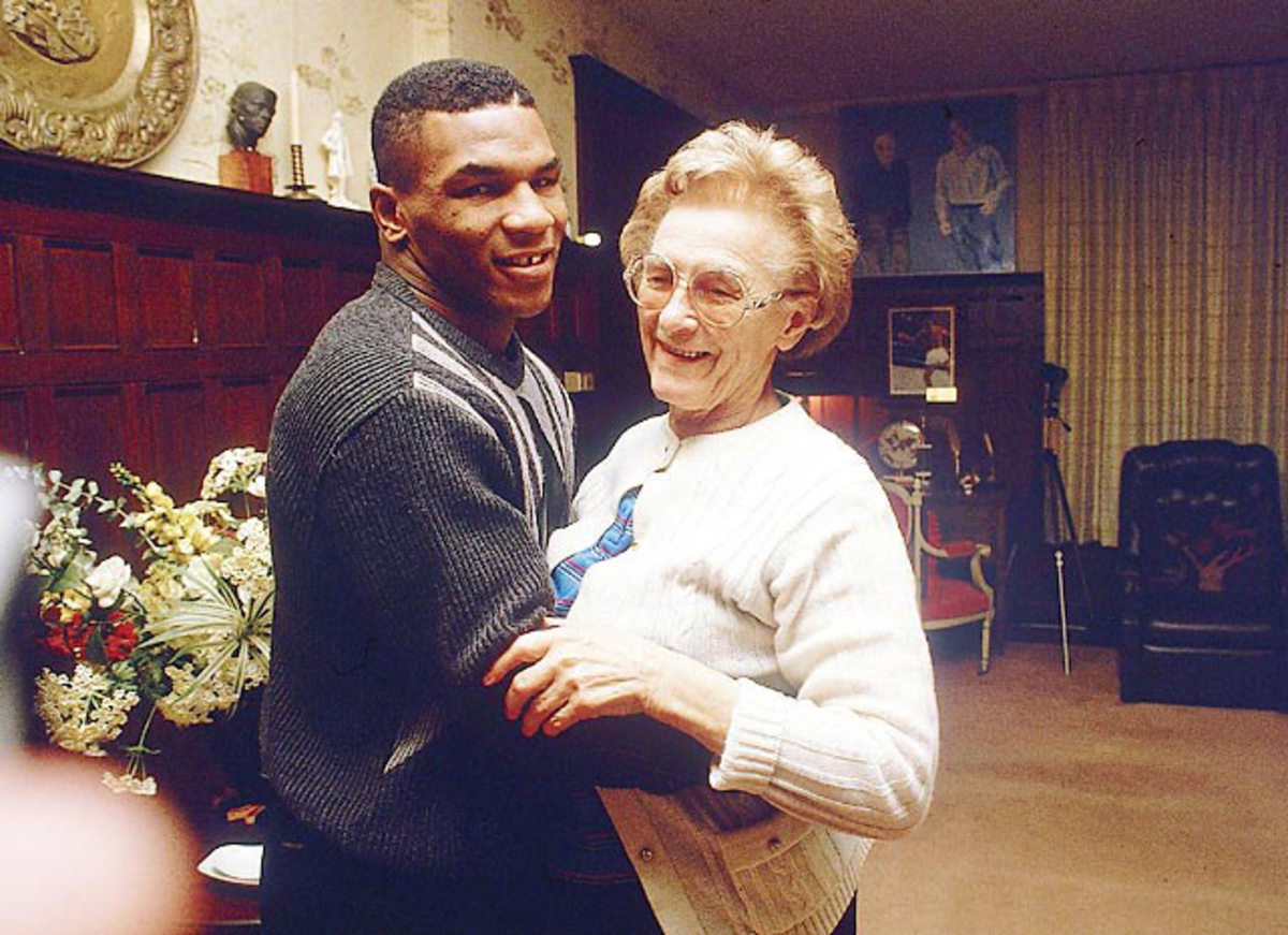 Mike Tyson and Camille Ewald