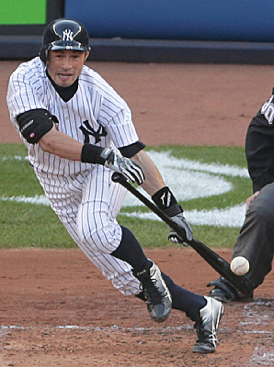 After joining the Yankees on July 23, Ichiro Suzuki hit.322 with five homers, 27 RBIs and 14 steals.