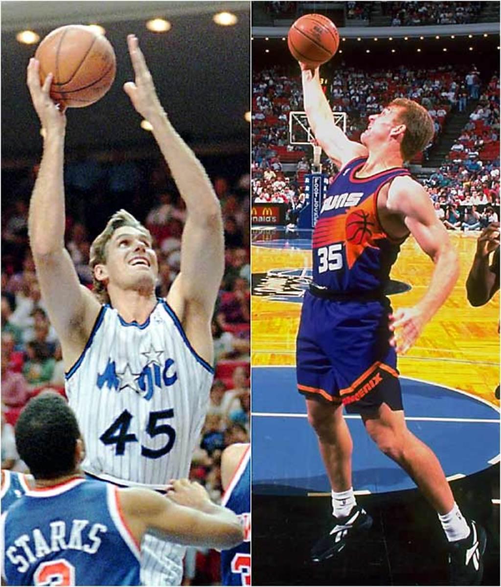 Jon Koncak, Hawks/Joe Kleine, Kings
