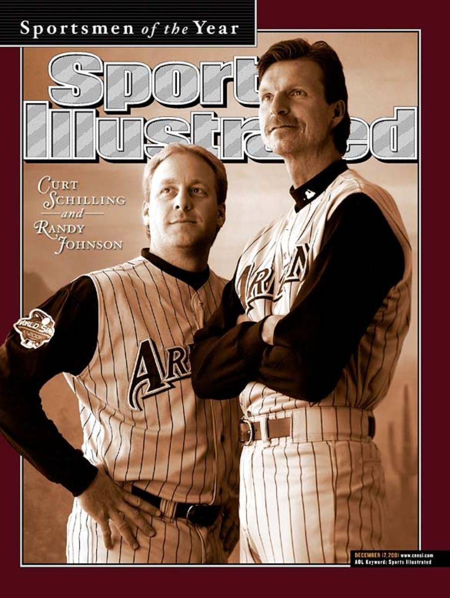 Curt Schilling and Randy Johnson