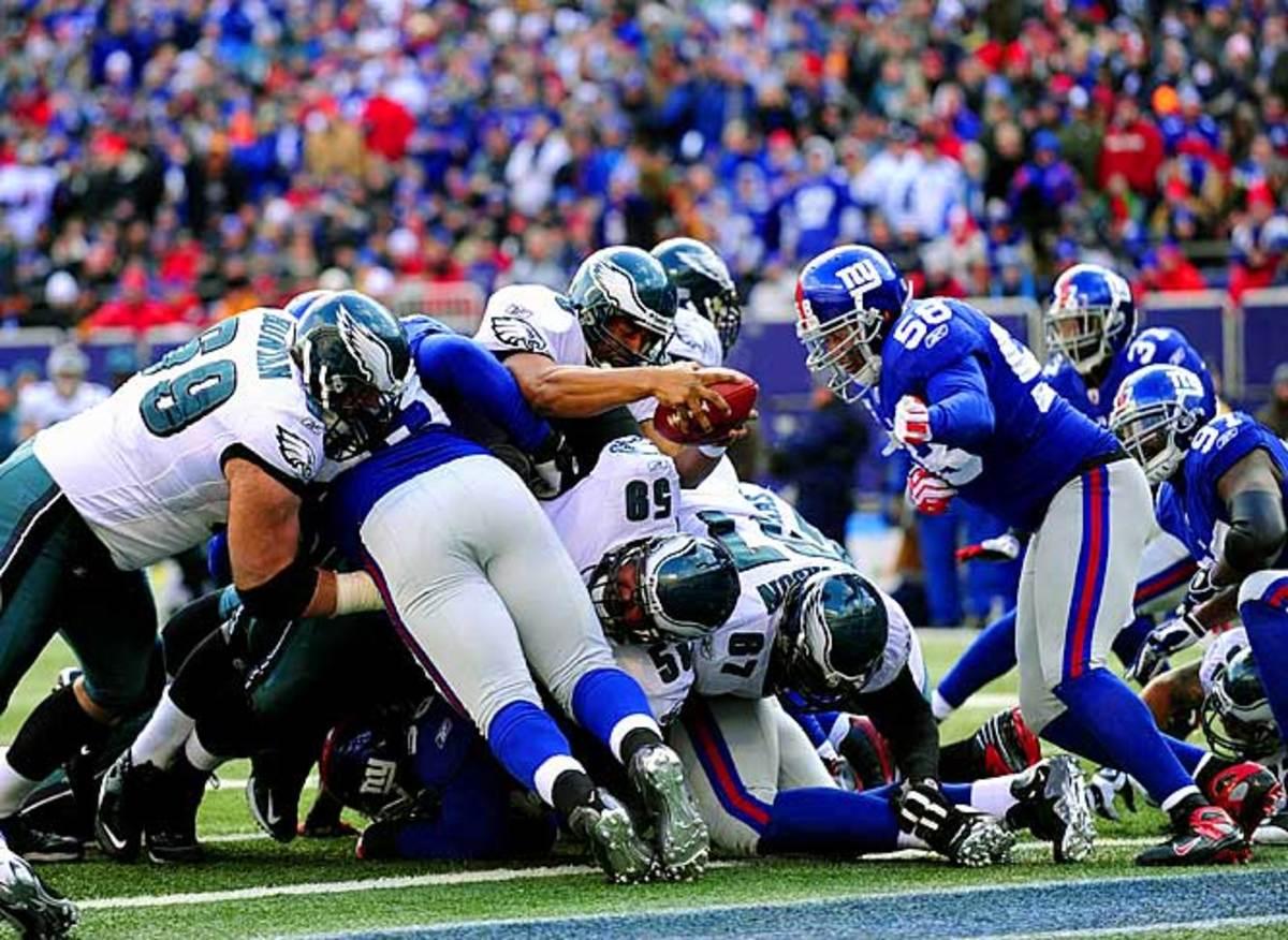 Eagles 23, Giants 11