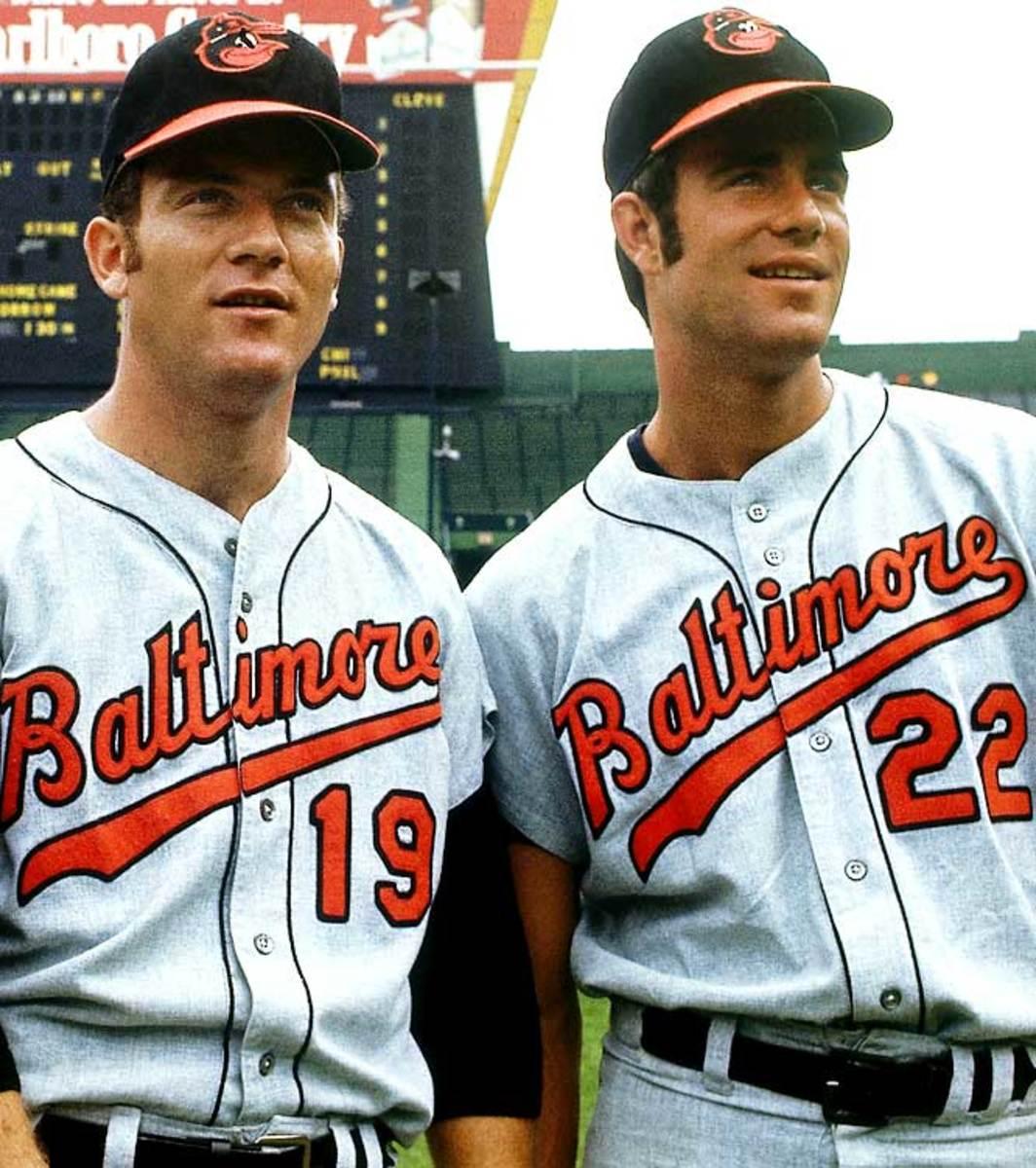 Dave McNally and Jim Palmer