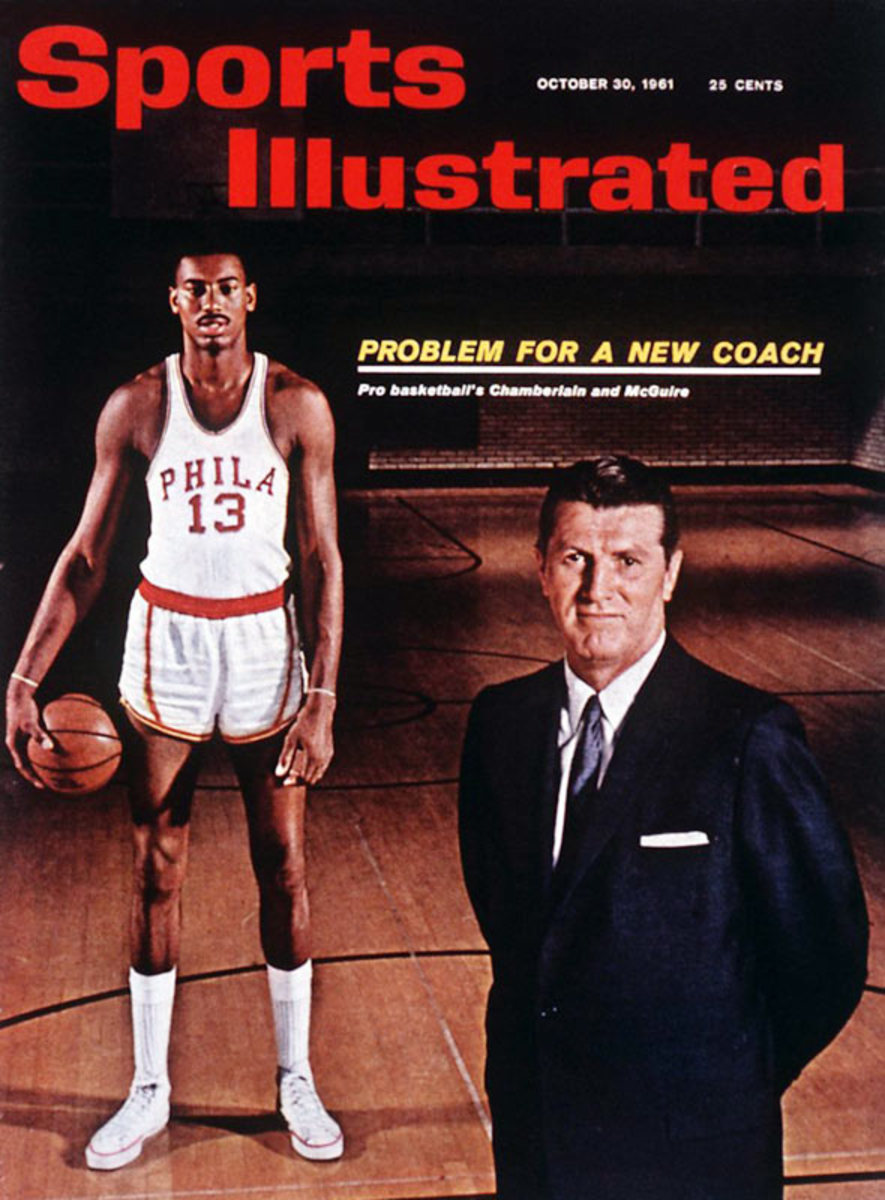 Wilt Chamberlain and Al Maguire
