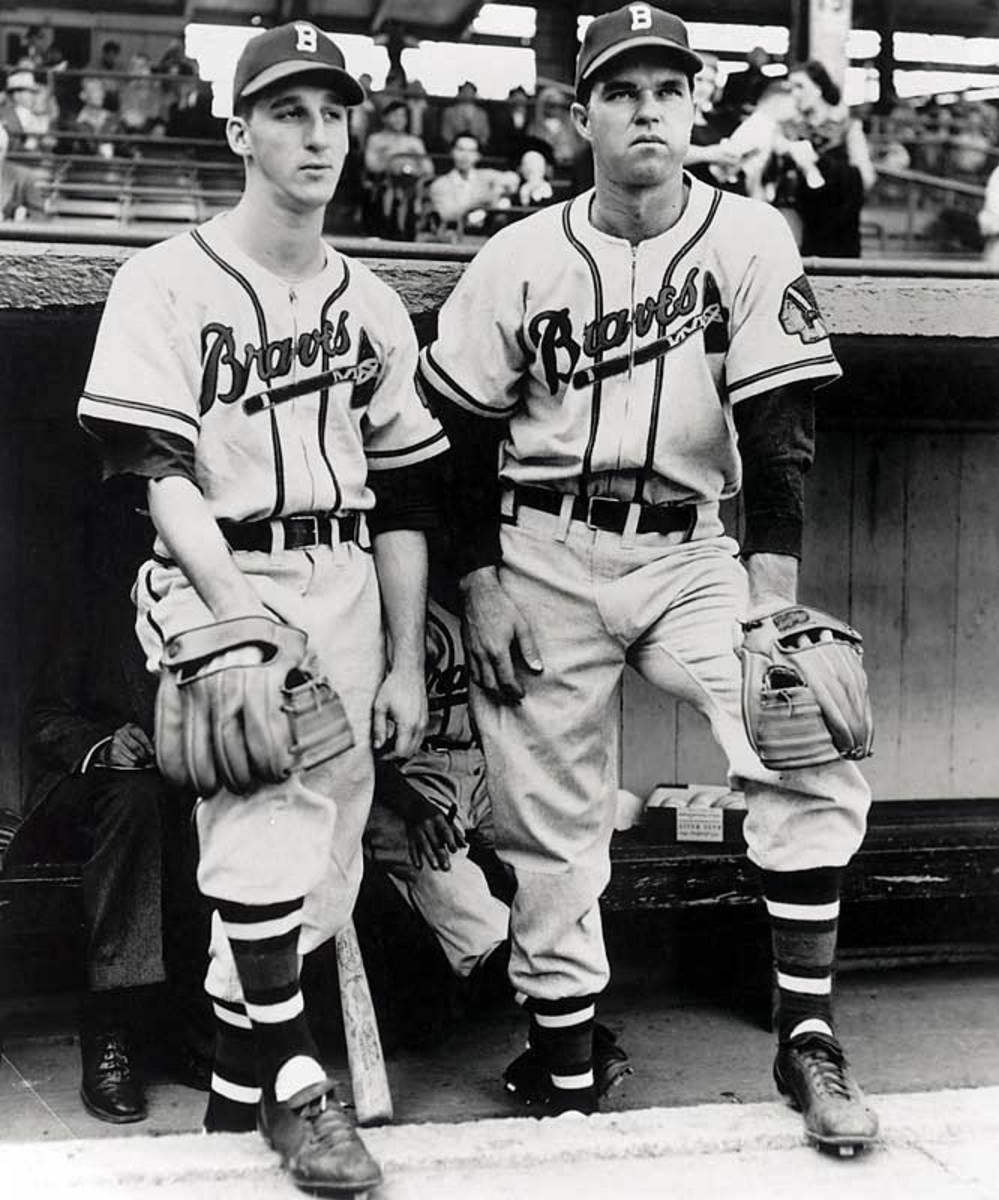 Warren Spahn and Johnny Sain