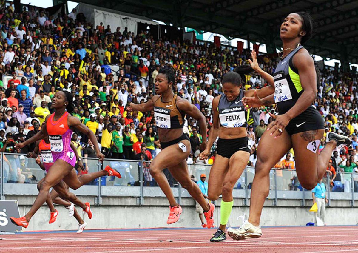 Women's 100 Meters