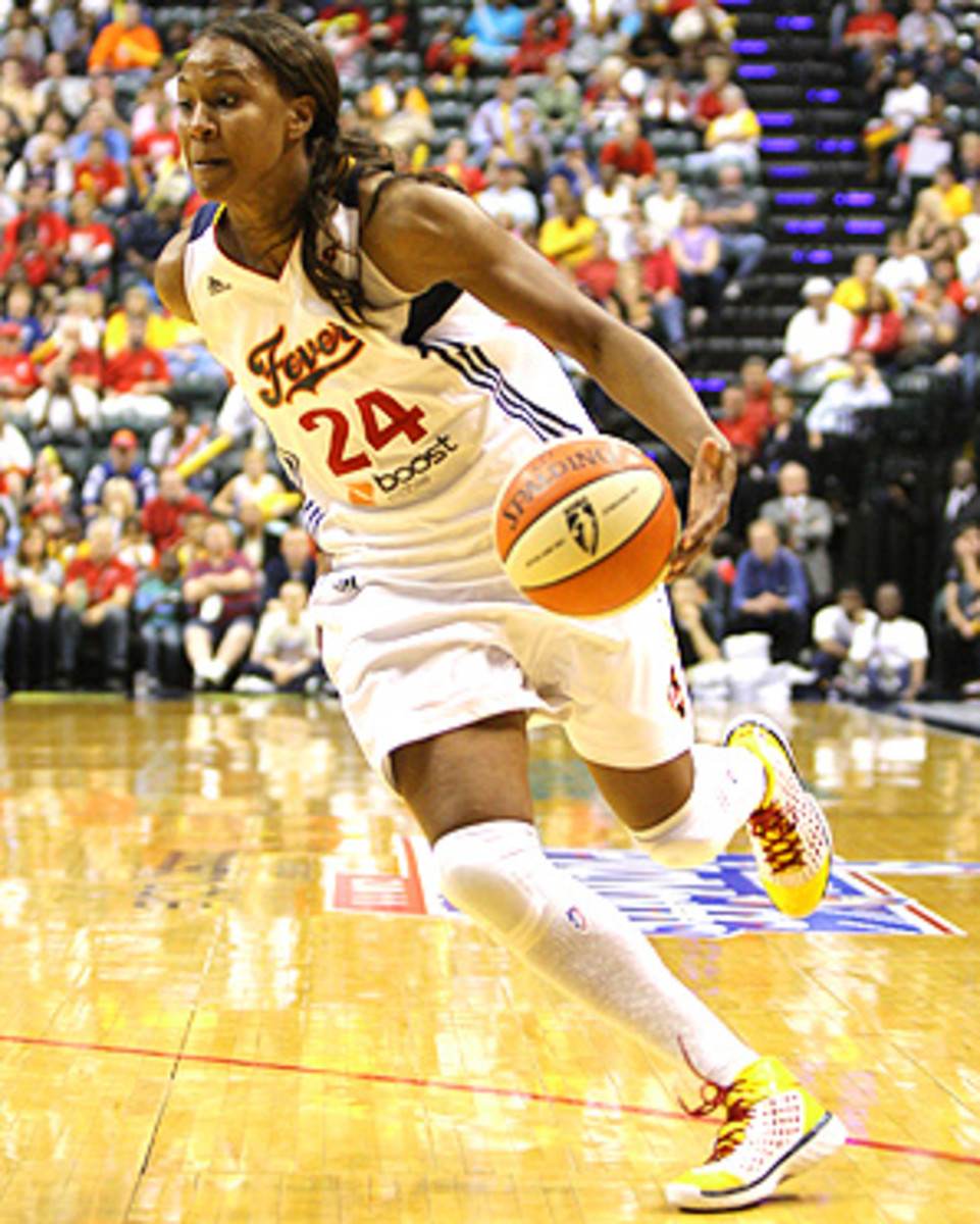 The Indiana Fever's Tamika Catchings is one of the WNBA's best players, but has yet to win a league championship.