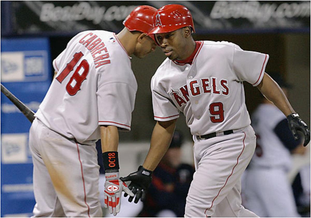 Orlando Cabrera and Chone Figgins