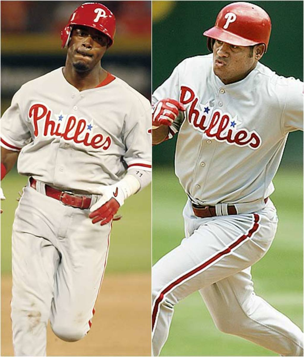 Jimmy Rollins and Bobby Abreu