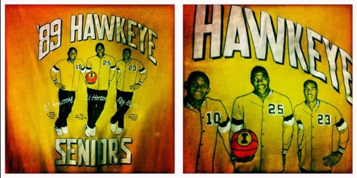 1989 Iowa Hawkeyes Shirt