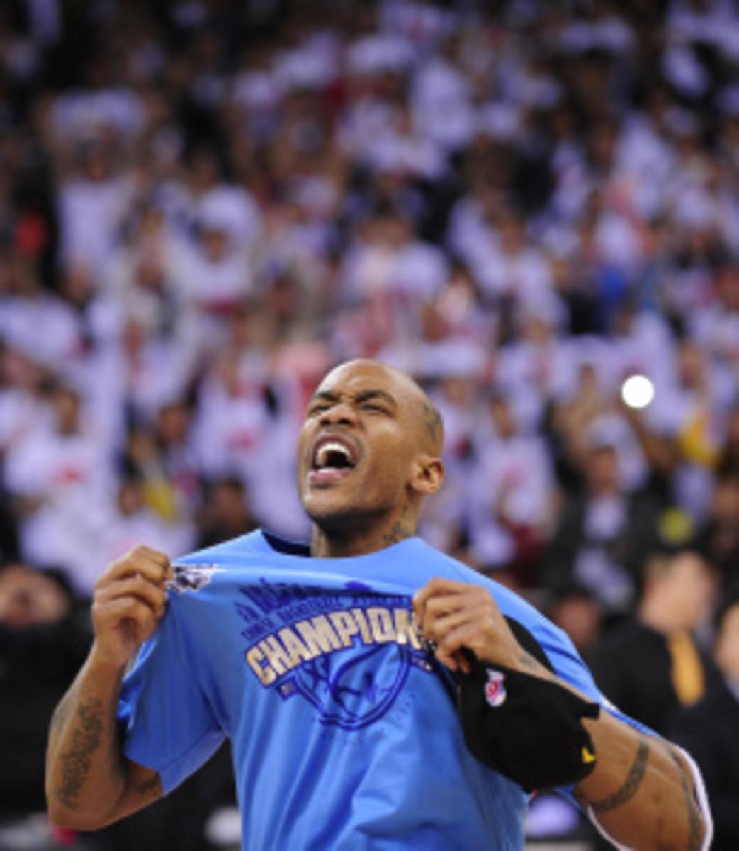 Former NBA superstar Stephon Marbury cel