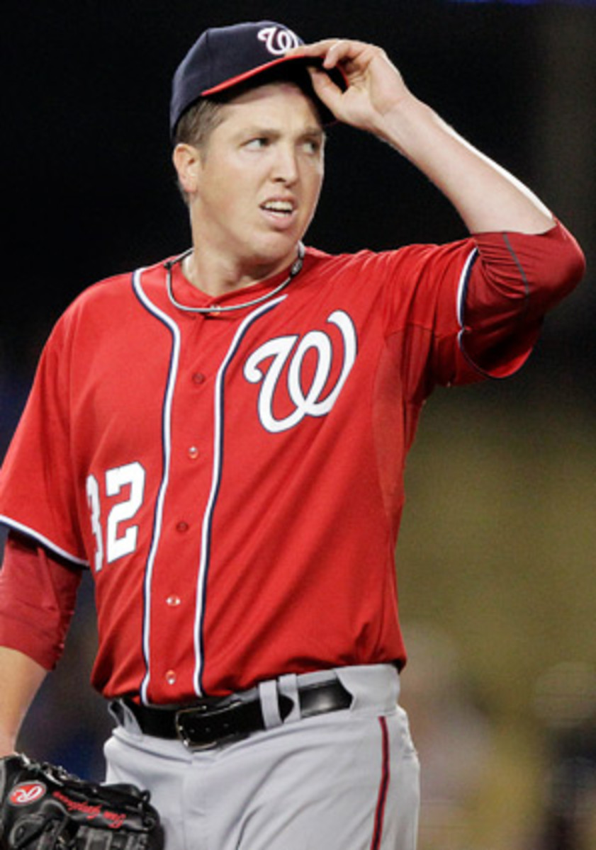 Tom Gorzelanny went 4-2 with a 2.88 ERA in 2012 with the Nationals.