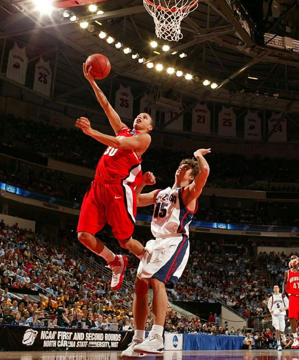 Stephen Curry   March 21, 2008