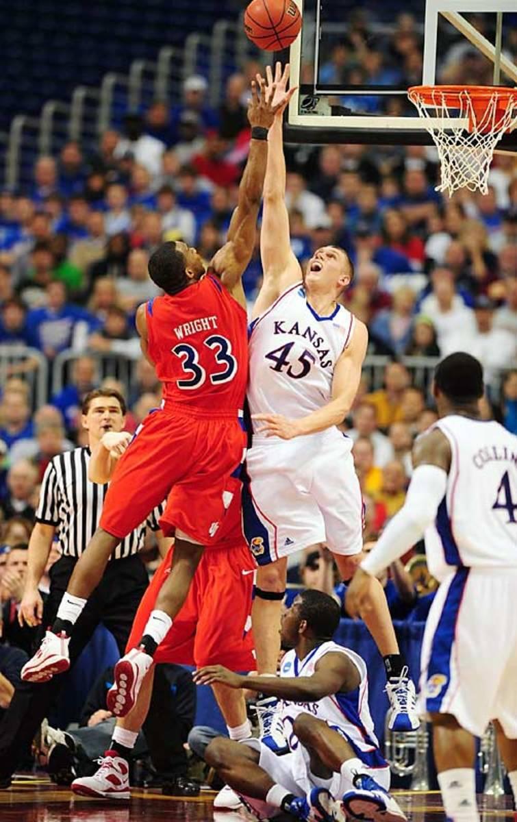 Cole Aldrich   March 22, 2009