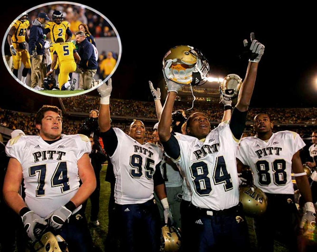 Pitt 13, West Virginia 9