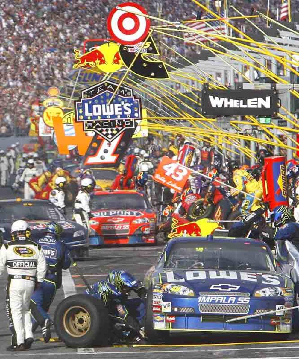 Daytona 500 Pit Row