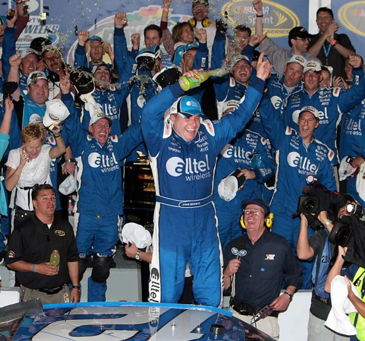 Ryan Newman wins the Daytona 500