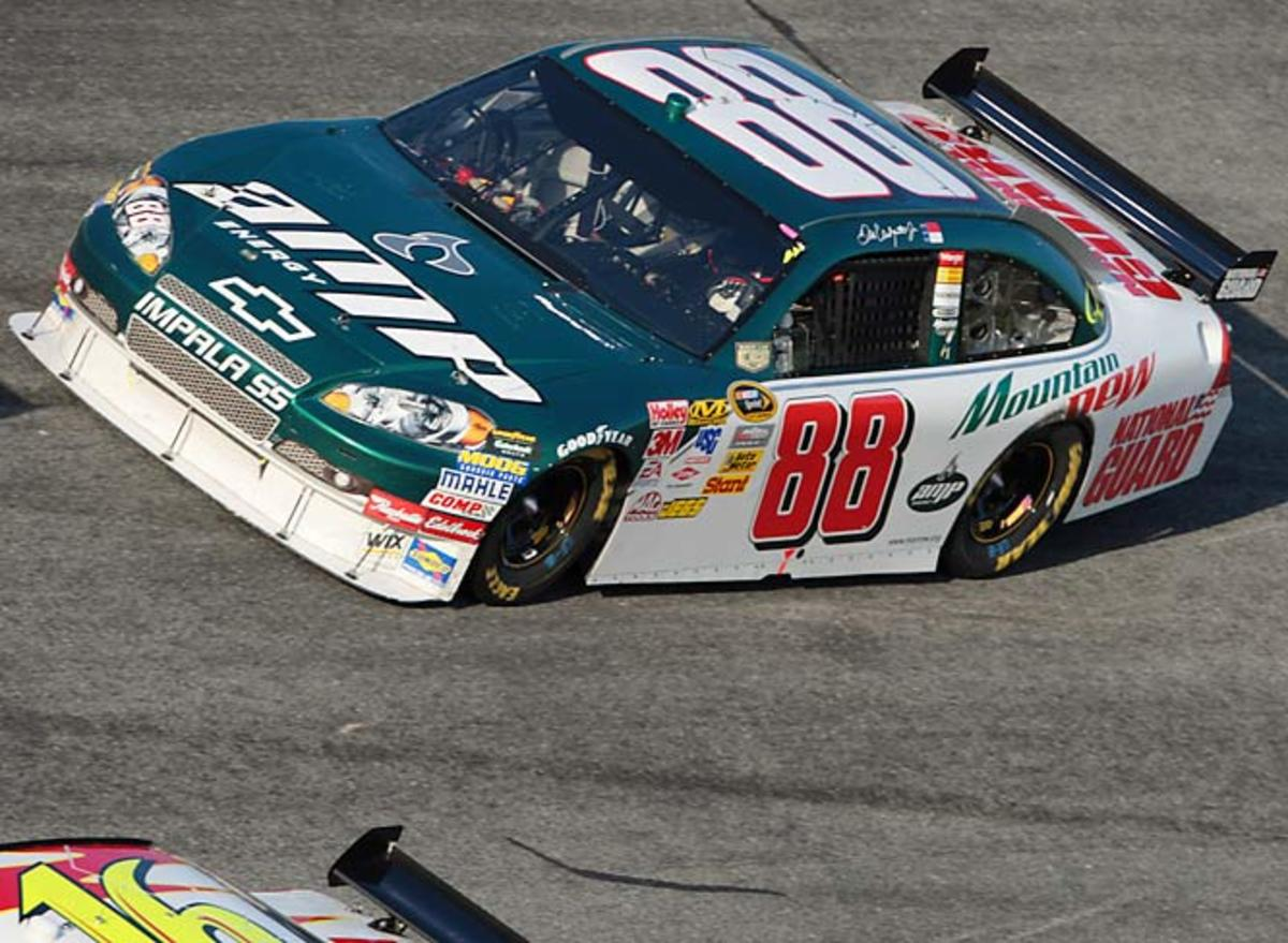 Dale Earnhardt., Jr. and his Amp'd-up Chevy