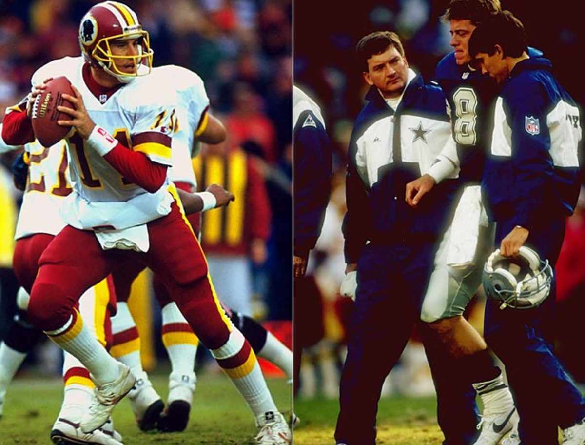 1991 Redskins (11-0), lost 24-21 to Cowboys