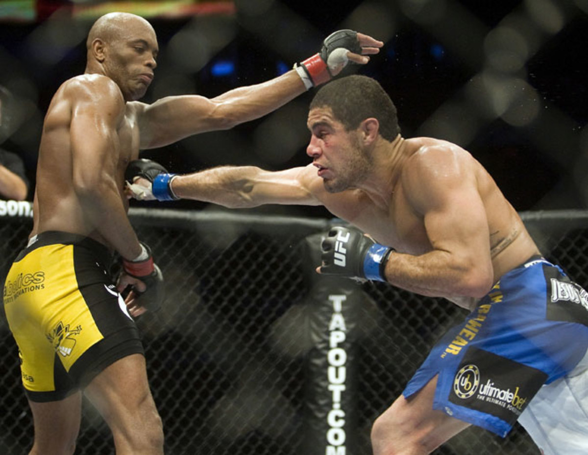 Anderson Silva vs. Thales Leites