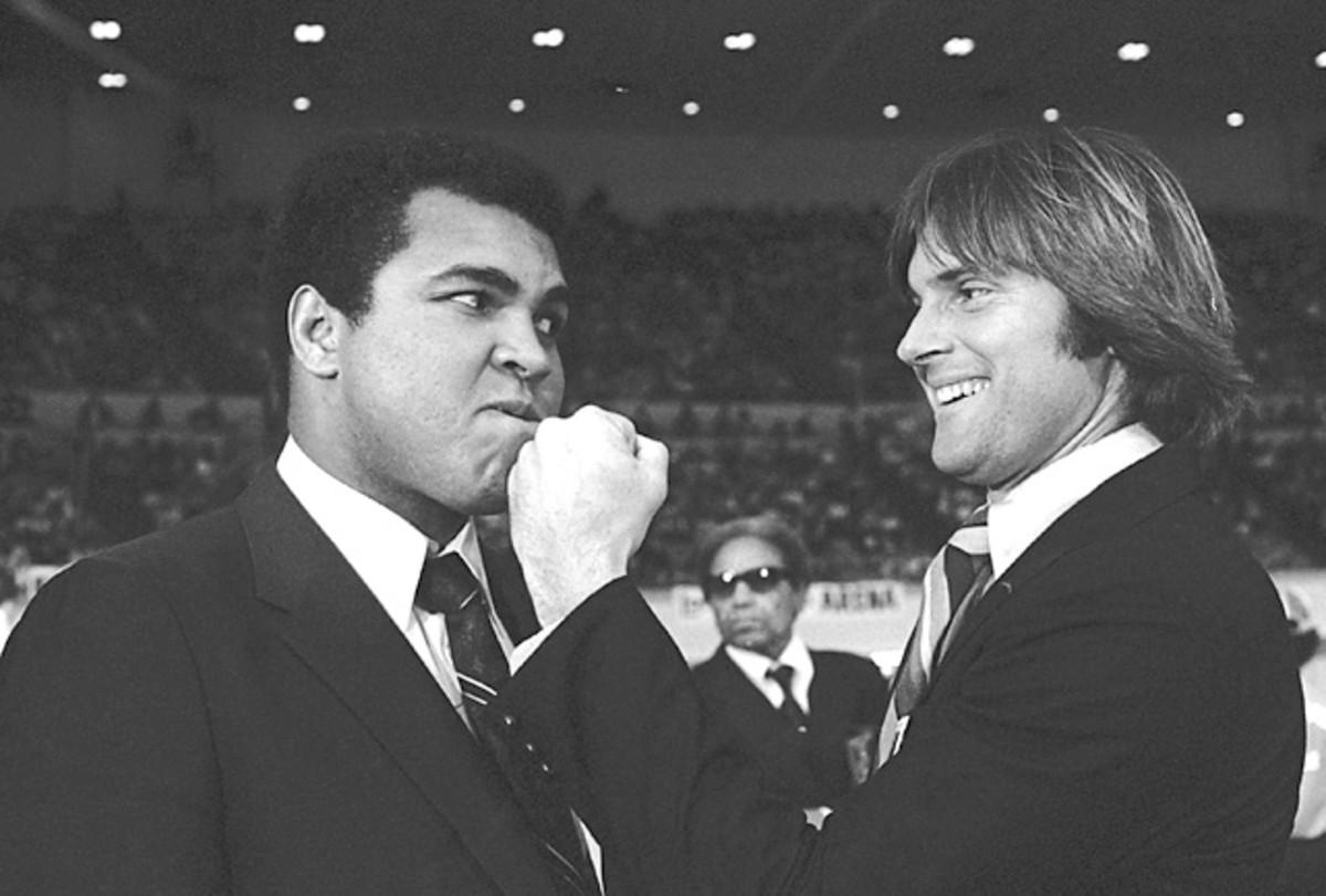 Muhammad Ali and Bruce Jenner