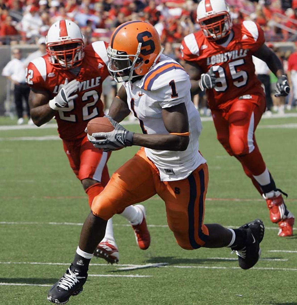 Syracuse 38, No. 18 Louisville 35