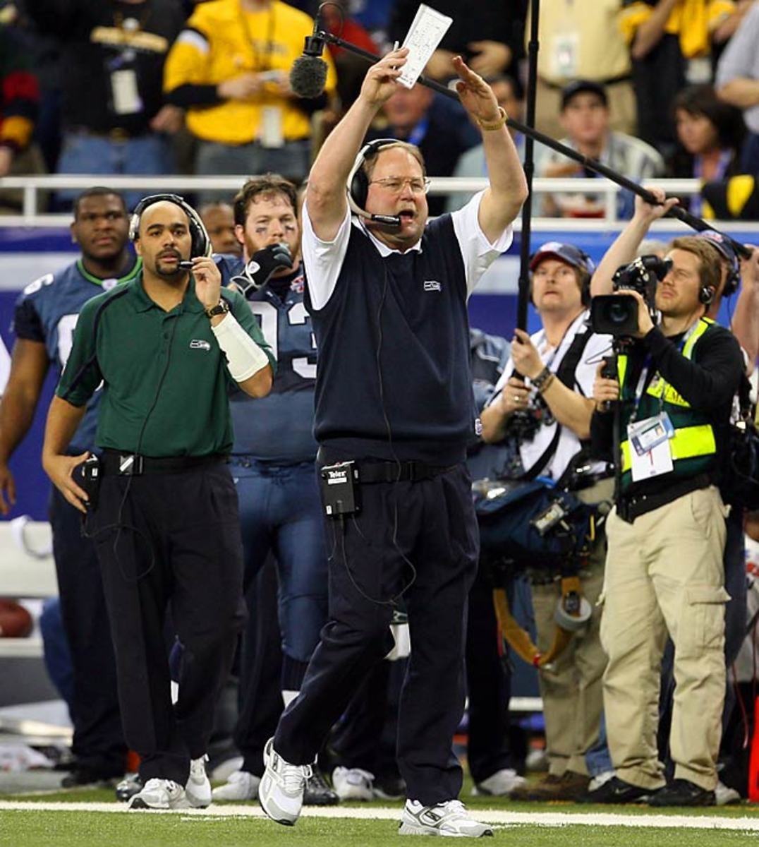 Mike Holmgren takes Seahawks to the Super Bowl