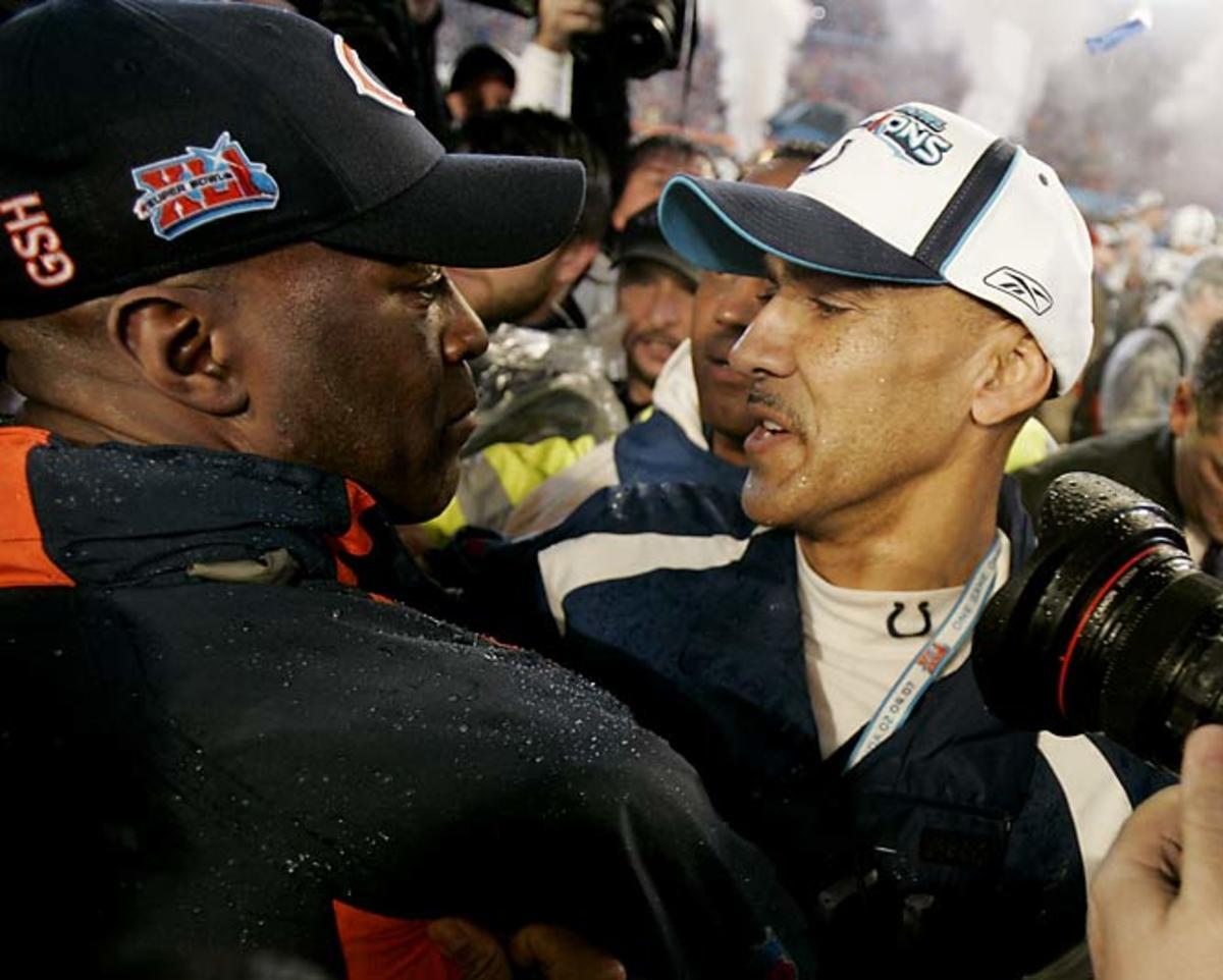 Tony Dungy and Lovie Smith make history at Super Bowl XLI