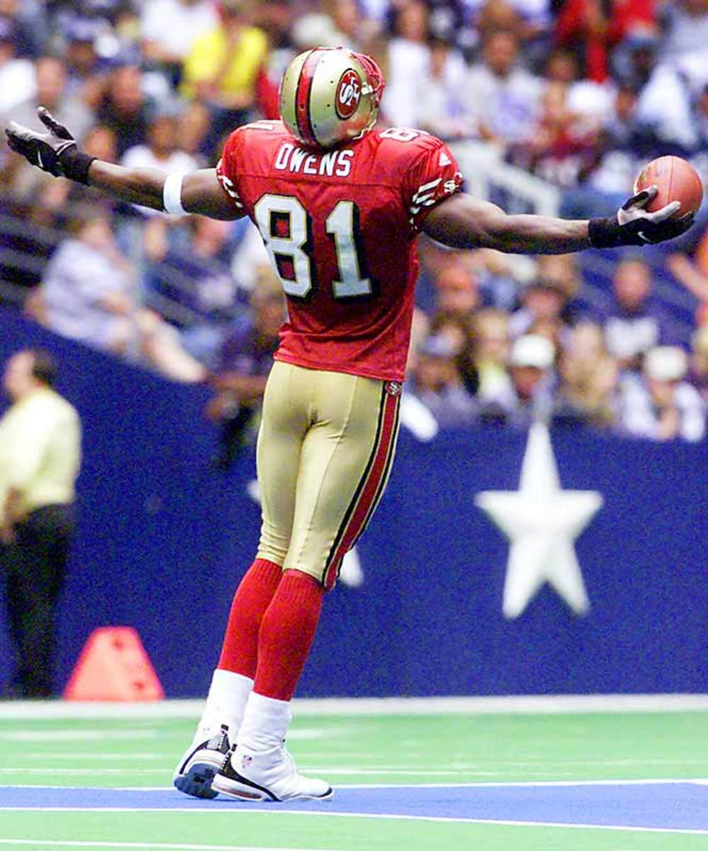 The Terrell Owens circus begins in earnest