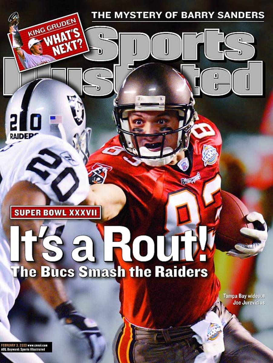 Raiders lose Super Bowl XXXVII