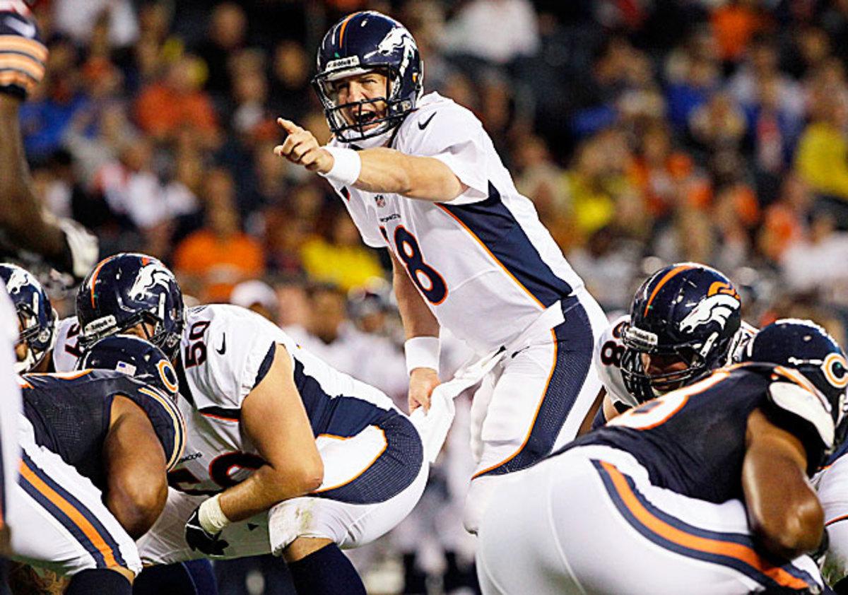 Peyton Manning -- Broncos