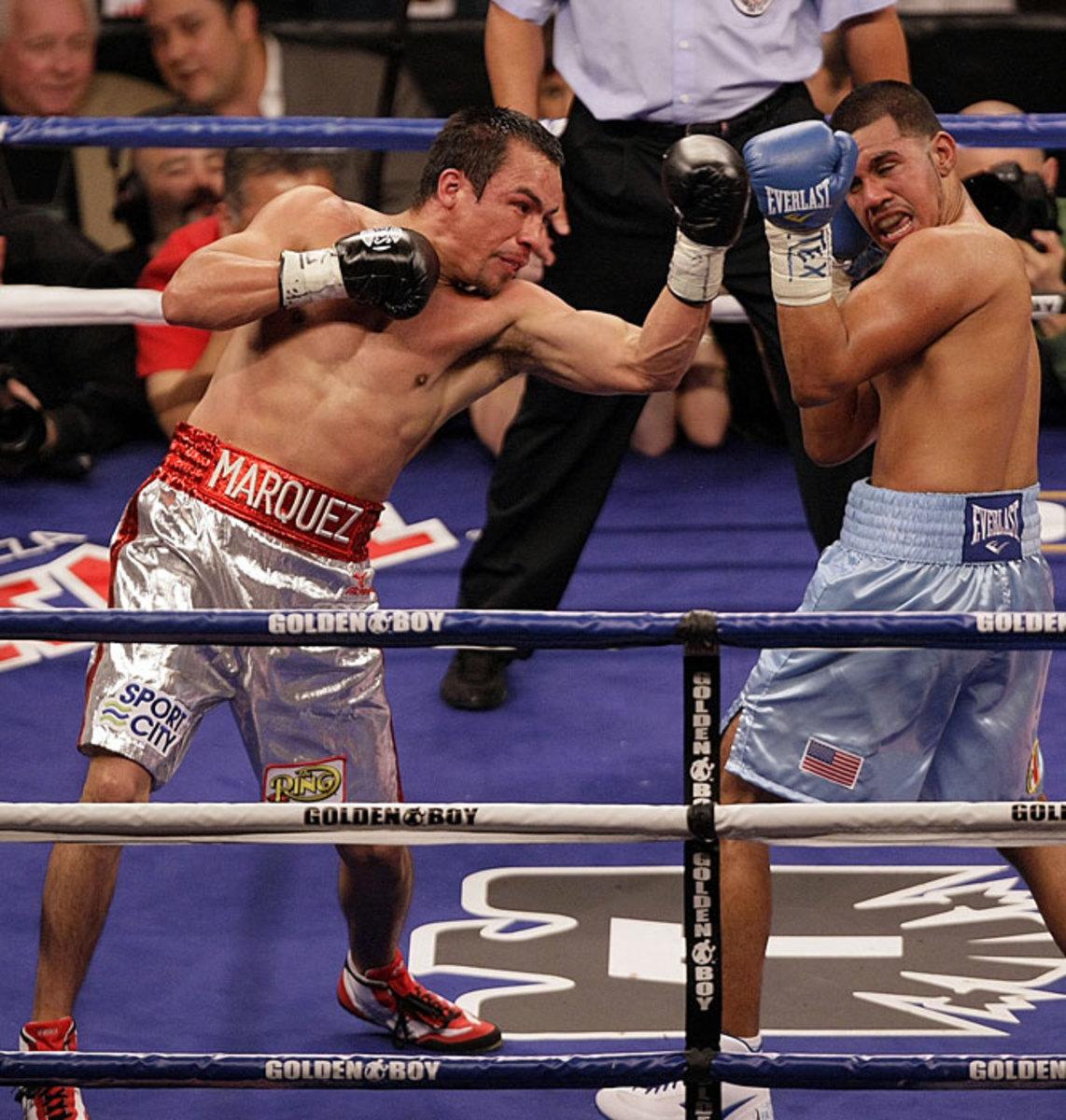 Juan Manuel Marquez, Lightweight (135 pounds)