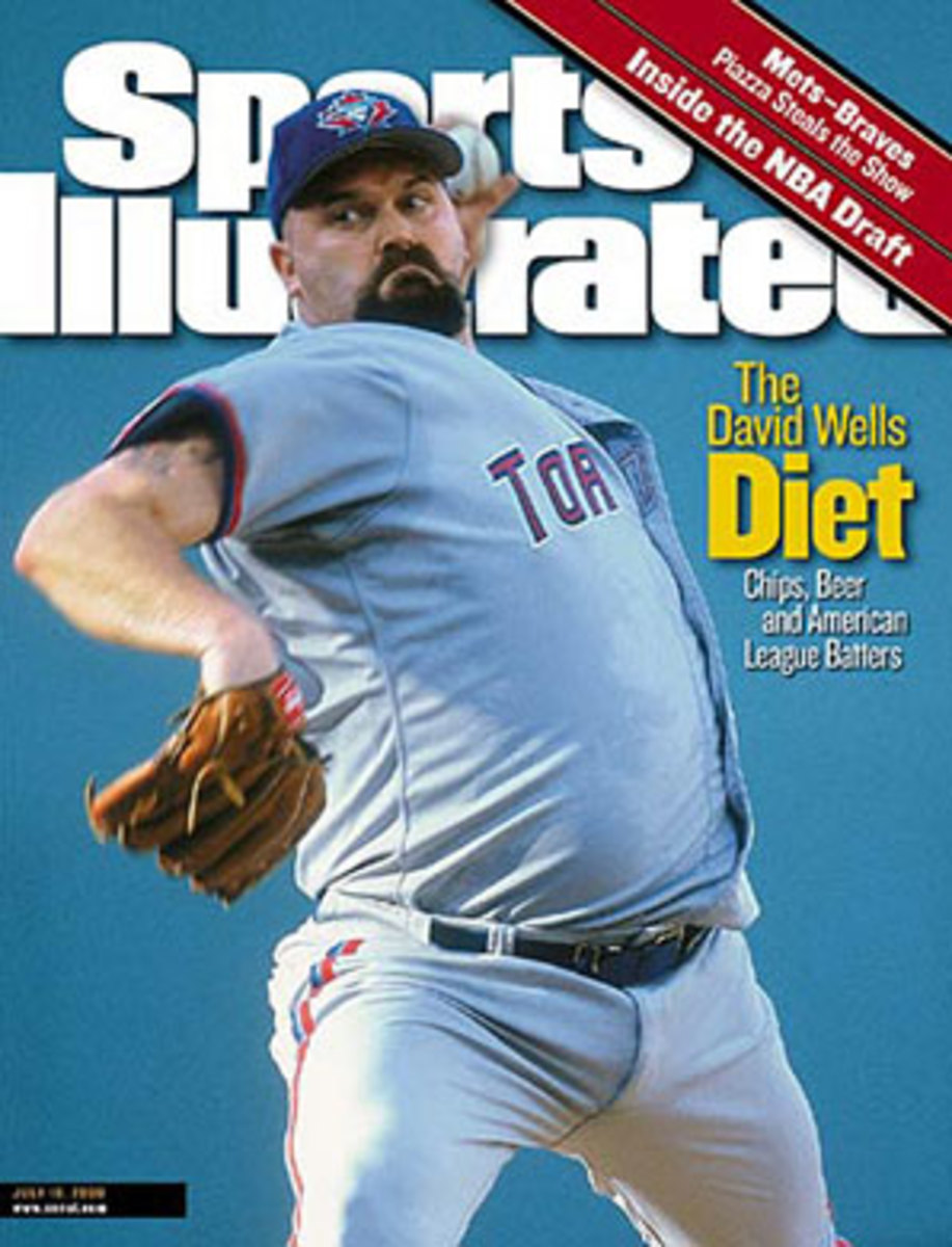 David Wells won 239 games in his 21 seasons, including a career- and AL-best 20 in 2000. (Chuck Solomon/SI)
