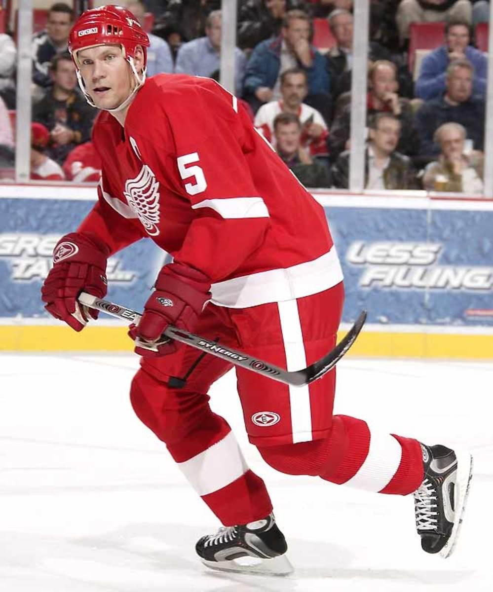 Nicklas Lidstrom, Red Wings