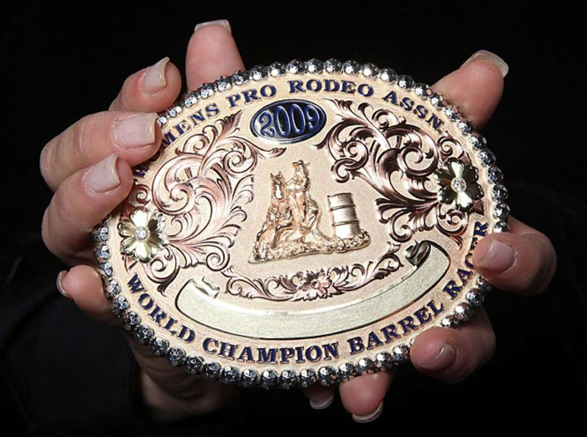 Brittany Pozzi's buckle