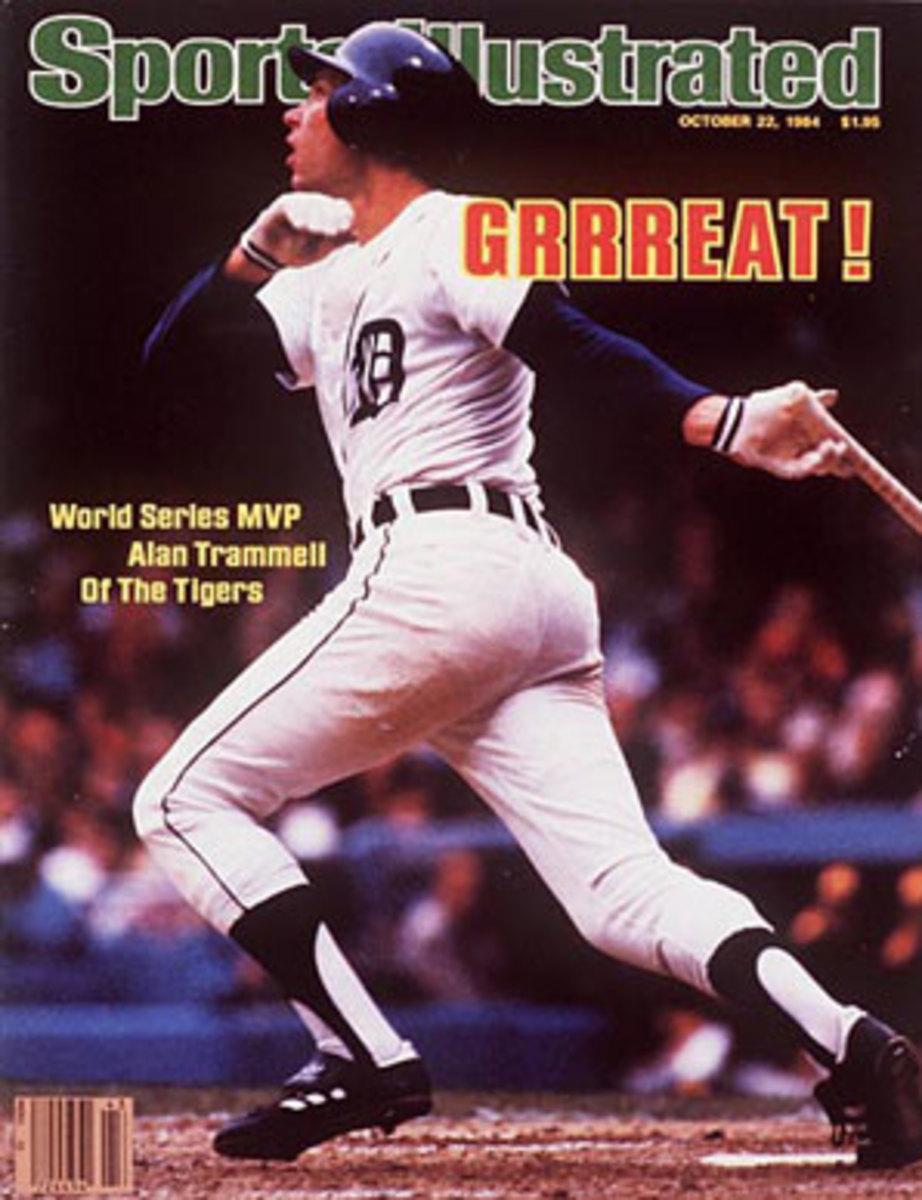 Alan Trammell was MVP of the 1984 World Series. (John Iacono/SI)
