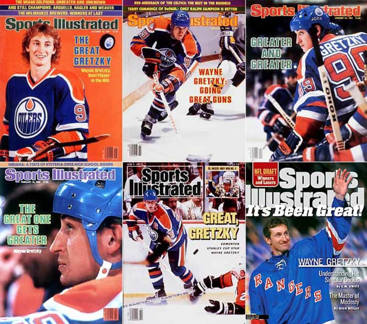 """Wayne """"The Great One"""" Gretzky"""