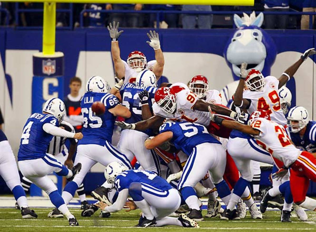 Colts 13, Chiefs 10