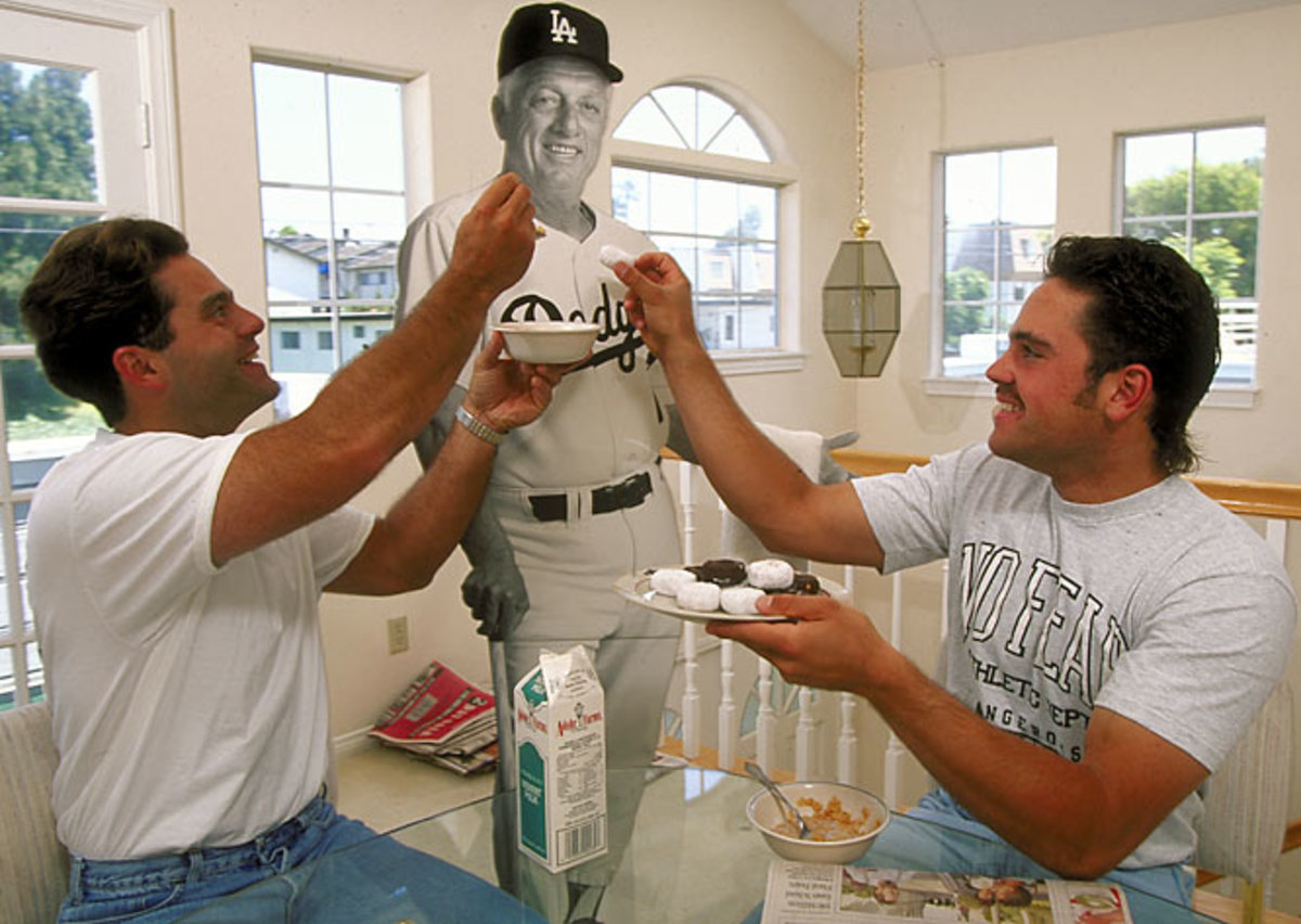 Eric Karros and Mike Piazza